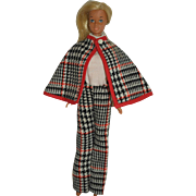 1970's Barbie Clone Tweed Outfit