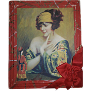 Art Deco Candy Box - Asian Doll & Beautiful Woman