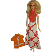 1970's Takara Doll Body, Dress & Shirt - Barbie Clone