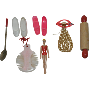 1960's Mattel Barbie & Skipper Accessories