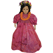 Amanaka Hawaiian Doll by Pauline Bjonnes Jacobsen