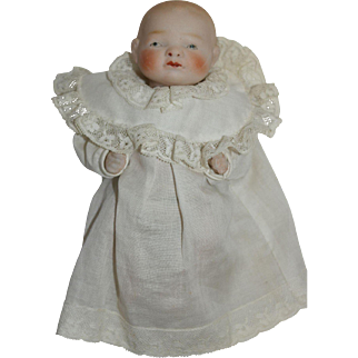 """Japanese All Bisque Bye-Lo - 6"""" tall"""