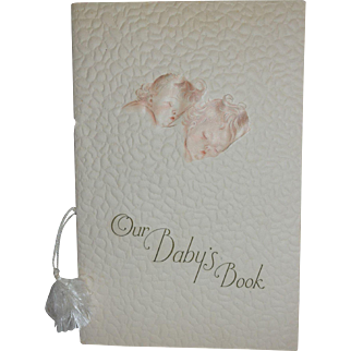 1930-40's Baby Book for your Dy-Dee or Tiny Tears