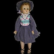 "1950's M. A. 15"" Elise Doll / Ballerina Feet"