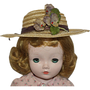 Vintage Hat - fits Cissy, Revlon,etc