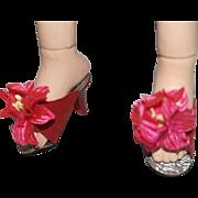 Fancy Flowered Heels for Cissy, Revlon