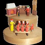 German Putz Snow White and the Seven Dwarfs - Miniature