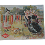 Diamond Dye Nursery Rhymes Pictorial Advertisement Booklet - early 1900's