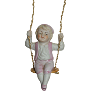 German Bisque Boy Swinger