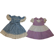 1950's Blue and Purple Dresses for Ideal P-91 Toni Doll