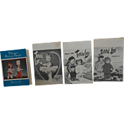 1955 Terri Lee Monthly Newsletters x 3 And Fashion Parade Catalog