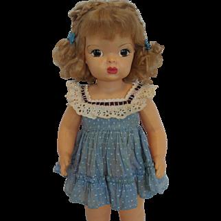 1950's Terri Lee Blue Party Dress