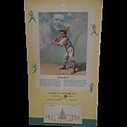 1950 Babe Ruth Calendar