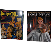 Fall 2016 Doll News and October 2016 Antique Doll Magazines
