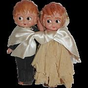 Celluloid Wedding Couple