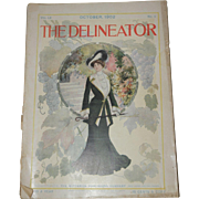 Oct. 1902 Delineator Women's Fashion Magazine