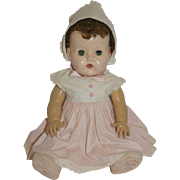 1956 A.C. Tiny Tears - Rubber Body - orig. Clothes - Red Tag Sale Item