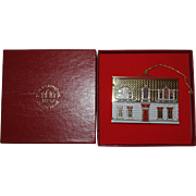 Bing and Grondahl Palladian House Dollhouse Ornament