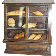 Bread Display Case for your Doll House, Patisserie, or German Room Box