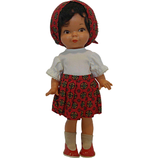 Vintage Goebel Doll - all orig.