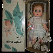 """1950's A.C. Teenie Weenie 11"""" Toodles with Her Poodle - orig. Box"""