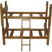"1950's Strombecker Bunk Beds for 8"" dolls"