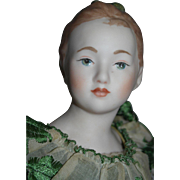 "Vintage 18"" Parian Shoulder Head -   Artist Doll"