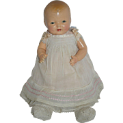 "14"" Effanbee Bubbles in Tagged Dress - as is"