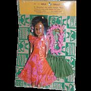 "Vintage ""Mele"" Hawaiian doll - MOC"