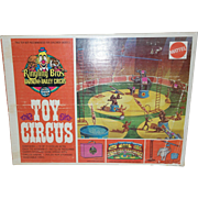 1973 Mattel Ringling Barnum and Bailey Circus Toy - MIB