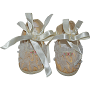 Mrs. Days Ideal Baby Shoes sz. 0 - for Dy-Dee, Tiny Tears, etc