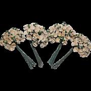 Vintage Paper Millinery Flowers