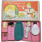 My Doll's Nursing and Bath Set