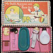 My Doll's Nursing and Bath Set