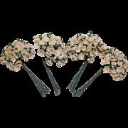Vintage Paper Millinery Flower Bouquets