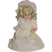 "10"" Celluloid Turtle Mark Baby Doll in Pink"