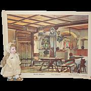 Antique Theatre L'Opera Back drop - Tavern Scene - Germany