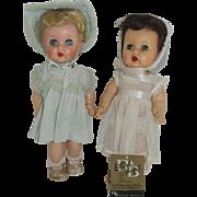 Two 1950's R&B Littlest Angel dolls - need TLC