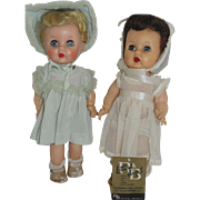 Two 1950's R&B Littlest Angel dolls - need TLC