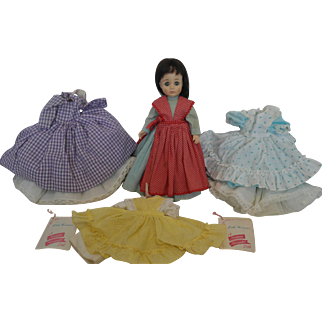 "M.A. 12"" Little Women Doll and Clothing lot"