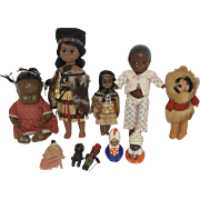 Vintage Ethnic Doll Collection
