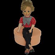 "1950's 19"" Uneeda Dollikin Multi-jointed Doll"
