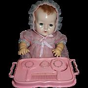 1927 Pink Celluloid Child's Dresser Set