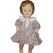 1930-40's Floral Doll Dress - Patsy, Dy-Dee,etc
