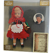 1995 70th Anniversary German  Lissi Doll - MIB
