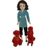 1960's Red Poodles for your Fashion Doll