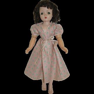 1950's Pink Floral Robe for Cissy, Revlon, etc