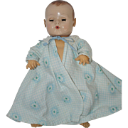 1950's Blue Floral Robe for Dy-Dee, Tiny Tears,etc