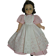 1960's Madame Alexander Lissy Doll - dressed as Beth from Little Women