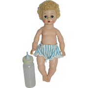 1950's Madame Alexander Little Genius  - in Blue Diaper
